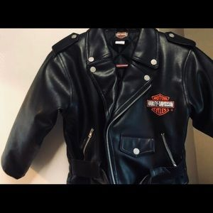 Brand New Never Worn! Kids Harley Bomber jacket